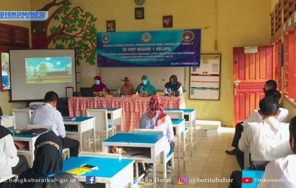 kegiatan Pendampingan Assement Nasional dan Pembelajaran Jarak Jauh tahap II di Kecamatan Kelapa