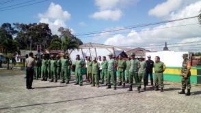 Pembekalan Linmas di Kecamatan Kelapa