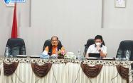 Sekretaris Daerah Bangka Barat dan Sekretaris Satgas Covid-19